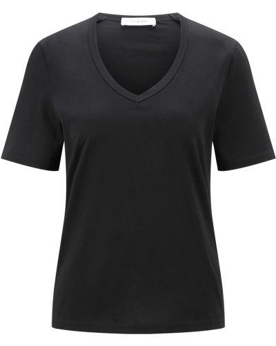 Czarny t-shirt Ivy & Oak