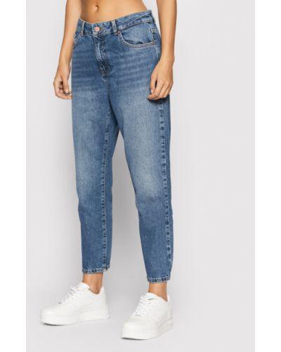 Mom jeans granatowe Noisy May