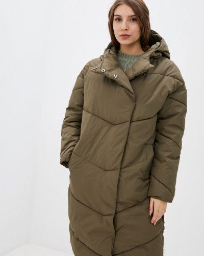 Теплая куртка хаки Noisy May