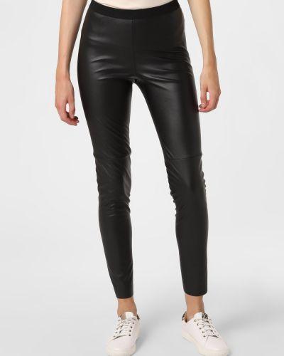 Spodnie skorzane - czarne Set