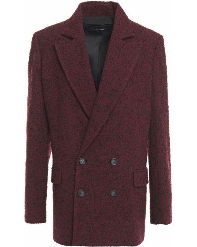 Красный пиджак двубортный с карманами Roland Mouret