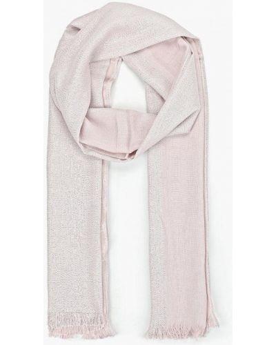 Палантин розовый Zarina