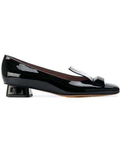 Черные кожаные туфли Rayne
