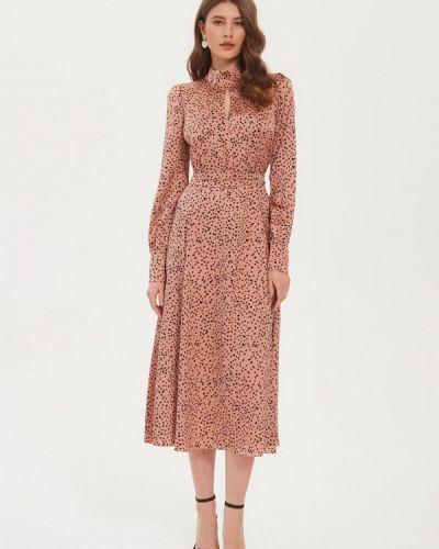 Прямое платье - розовое Moru