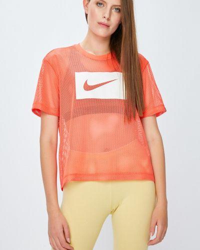 Спортивная футболка свободная прозрачная Nike Sportswear
