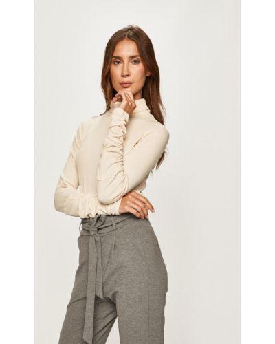 Sweter z wzorem beżowy Glamorous