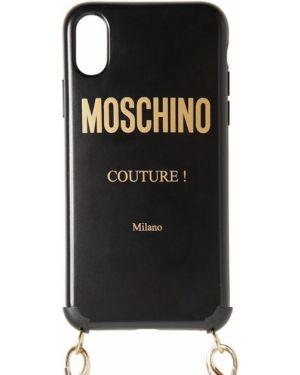 Czarny łańcuszek Moschino