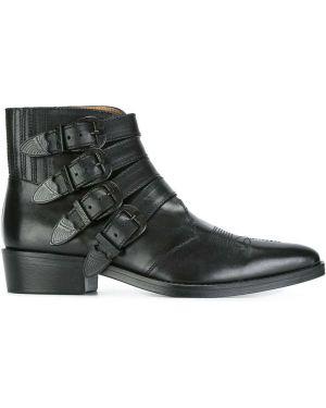 Черные кожаные ботинки Toga Virilis