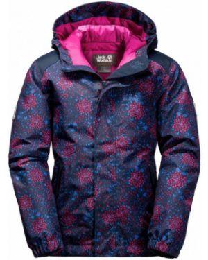 Утепленная куртка леопардовая мембрана Jack Wolfskin