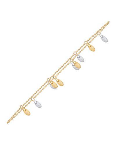 Золотой браслет с подвесками с подвесками из золота Sokolov