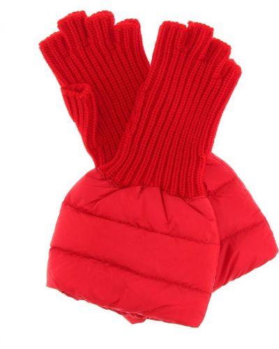 Стеганые перчатки Moncler