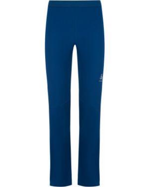 Спортивные спортивные брюки с поясом для бега софтшелл Odlo