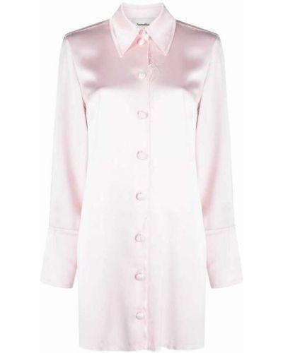 Różowa sukienka Nanushka