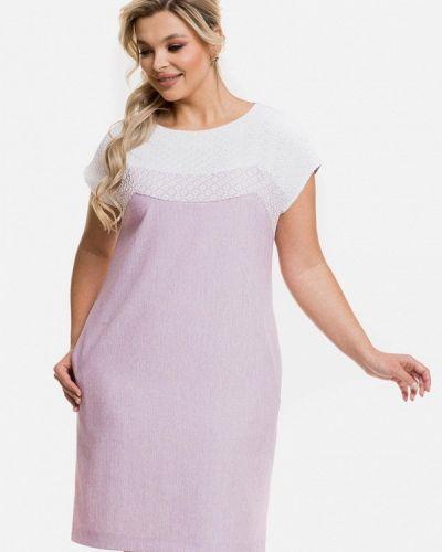 Фиолетовое повседневное платье Venusita