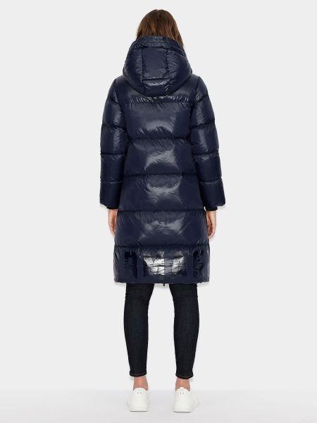 Пальто - синее Armani Exchange