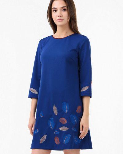 Платье прямое осеннее Ricamare