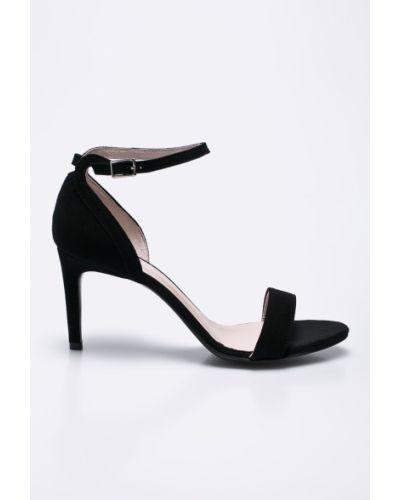 Черные туфли на высоком каблуке Gino Rossi