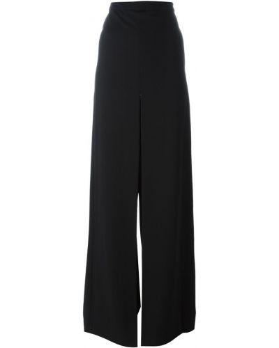 Шерстяные брюки - черные Chalayan
