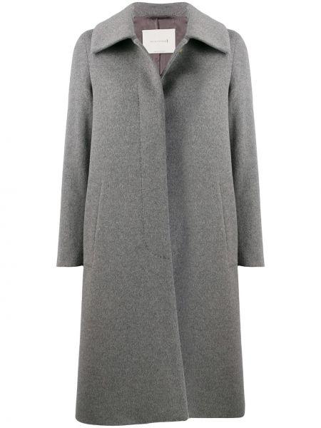 Długi płaszcz klasyczny wełniany Mackintosh