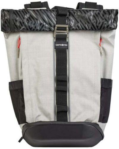 Biały plecak na laptopa Samsonite