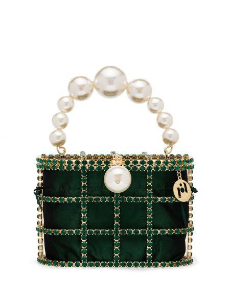 Zielona złota torebka Rosantica