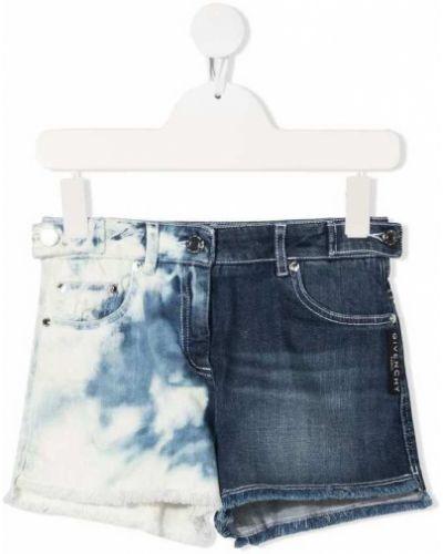 Szorty jeansowe - szare Givenchy
