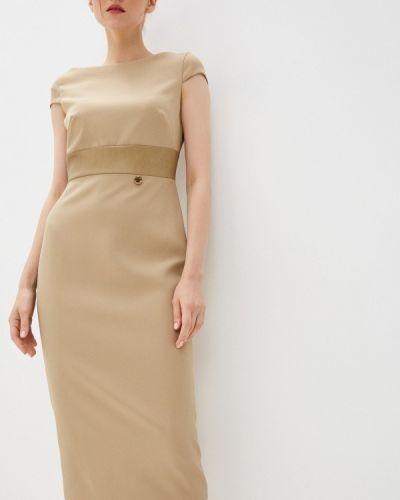 Бежевое платье осеннее Rich & Naked