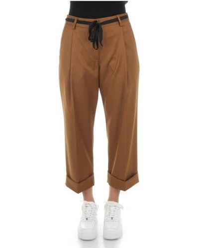 Brązowe spodnie Dixie