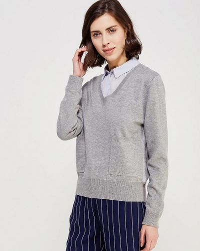Пуловер серый Delicate Love
