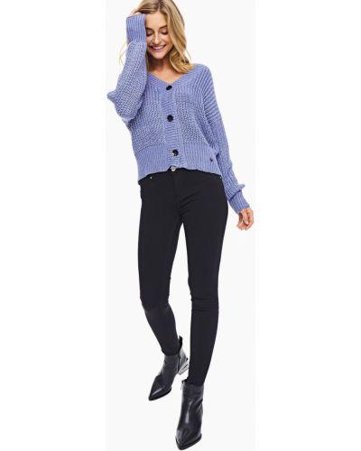 Зауженные черные джинсы-скинни со стразами Gaudì