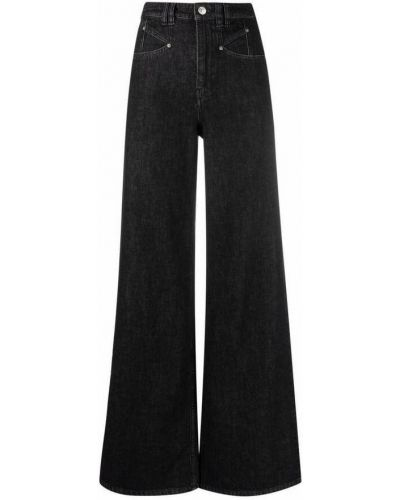 Mom jeans - czarne Isabel Marant