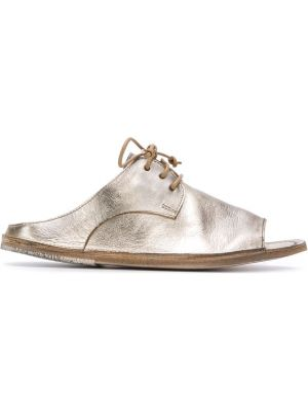 Сандалии на шнуровке на каблуке Marsèll
