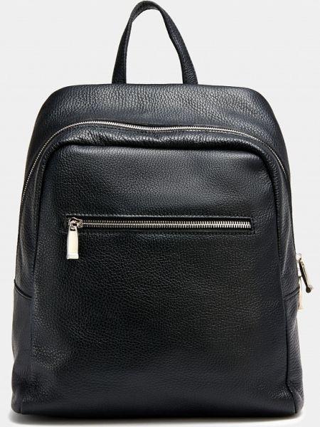 Классическая черная текстильная кожаная сумка с декоративной отделкой Ralf Ringer