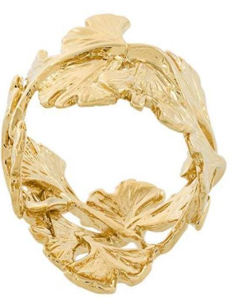 Pierścień metal ze złota Aurélie Bidermann
