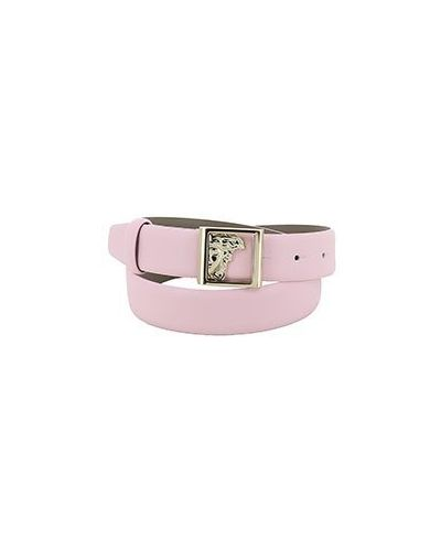 Ремень розовый Versace Collection