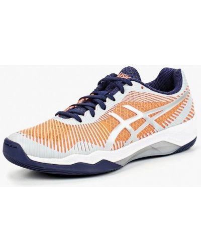 Оранжевые кроссовки низкие Asics