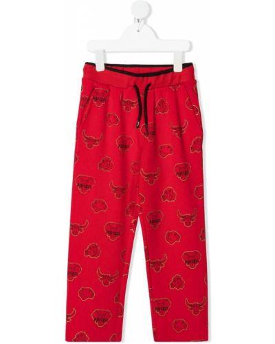 Spodnie sylwestrowe z wiskozy Kenzo Kids