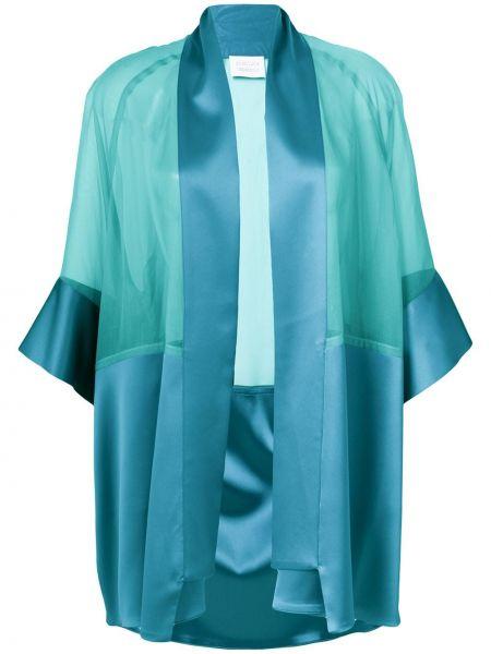 Зеленый шелковый пиджак Gianluca Capannolo