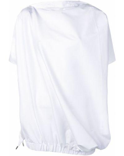 Асимметричный топ Balossa White Shirt