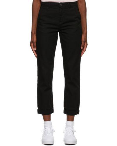 Bawełna prosto biały jeansy o prostym kroju z kieszeniami Carhartt Work In Progress