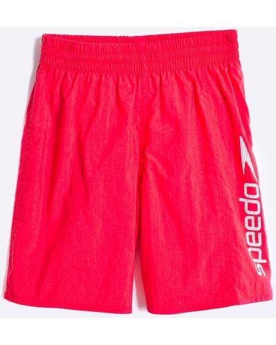 Красные плавки Speedo