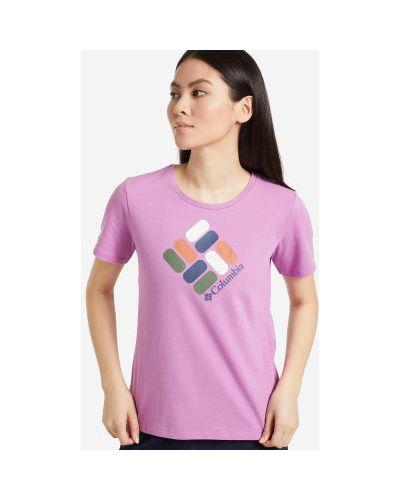 Спортивная футболка - фиолетовая Columbia