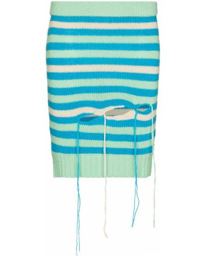 Niebieska spódnica prążkowana Charles Jeffrey Loverboy