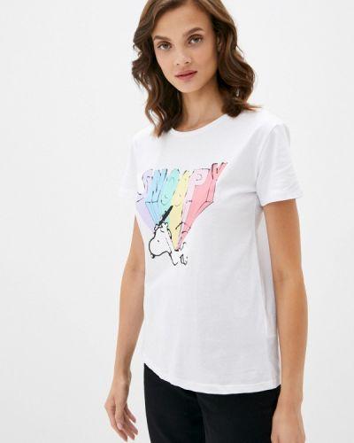 С рукавами белая футболка Lc Waikiki