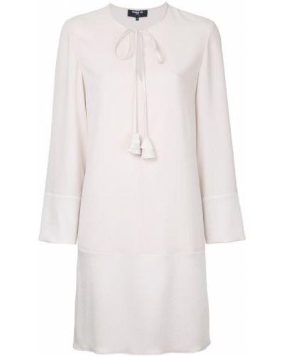 Платье мини с длинными рукавами с вырезом Paule Ka