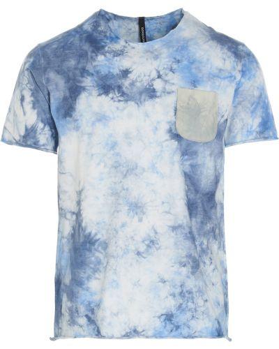 Niebieski t-shirt Giorgio Brato