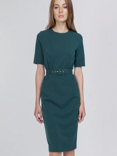 Платье футляр бирюзовый Raimaxx