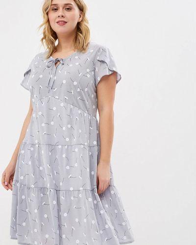 Повседневное платье серое Berkline