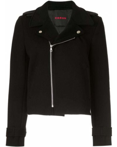 Черная куртка Caban