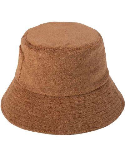 Brązowa czapka bawełniana Lack Of Color